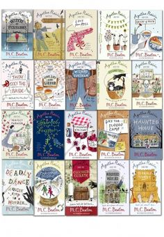Agatha Raisin Series Collection of 20 Books by M C Beaton #AgathaRaisin #Detective #Murder #Book #AdultFiction #YoungAdult  http://www.snazal.com/agatha-raisin-series-collection-m-c-beaton-20-books-set-1-to--DEALMAN-U5-AgathaRaisin-20bks.html