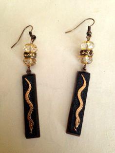 Snake Charming Earrings