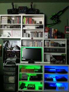 Tetris style console/game collection.