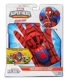 This Playskool Spider-Man Water Web Shooter Bath Toy by Marvel is perfect! #zulilyfinds