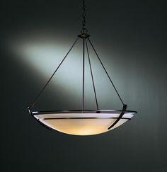 Three Light Black Up Pendant   Kody Lighting, Inc.