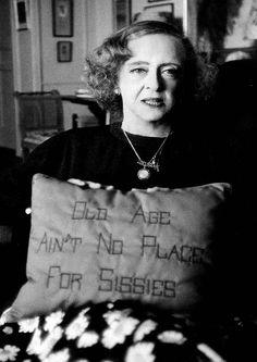 Bette Davis - Not For Sissies!