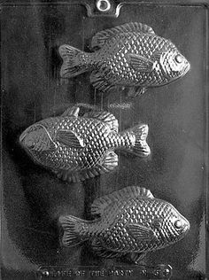 LARGE FISH Chocolate Candy Mold