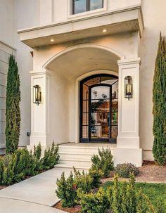 Mediterranean Homes Exterior, Mediterranean Decor, Mediterranean Architecture, Spanish Exterior, Tuscan Homes, Luxury Homes Exterior, Italian Homes Exterior, Florida Homes Exterior, Casa Clean