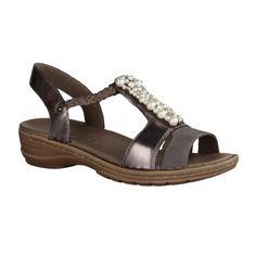 ara Hawaii Damen klassische Sandalen Braun