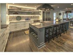 Lovely kitchen! With built in dog bowls so cute!   2621 Brookwood Drive NE, Atlanta, Georgia, 30305 | Beacham & Company