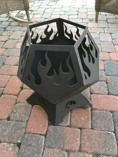 This pit ships FREE anywhere in the contiguous United States! This is a solid product, all welded! Not bolt together like the big box stores sell! This pit measures approximately 20 across and stands about 22 tall. It is perfectly sized for small patio gatherings, and makes a great