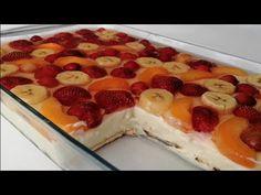 Köstliche Desserts, Delicious Desserts, Cake Recipes, Dessert Recipes, Turkish Recipes, Banana, Coffee Break, Food Preparation, Bakery