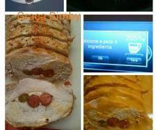 Receita Lombo de Porco recheado com linguiça e farinheira na Varoma XL por Graça Bimby - Categoria da receita Pratos principais Carne
