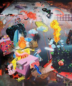 120 x 100 cm, acrylic and spray paint on canvas 15 December, July 4th, Fire Heart, My Heart, Urban Behavior, Garden Of Earthly Delights, Spray Paint On Canvas, Hieronymus Bosch