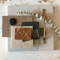 Mood Board Interior, Interior Design Boards, Interior Design Inspiration, Moodboard Interior Design, Material Board, Design Palette, Design Trends, Color Schemes, House Design