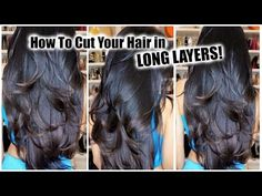 How to Cut Your Hair in Layers at Home!