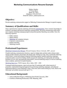 Text Resume executive 1 resume template Communication Skills For Resume Httpjobresumesamplecom1805communication