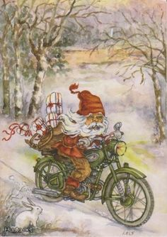 fete noel vintage gifs images - Page 9 Xmas Gif, Merry Christmas Gif, Cute Christmas Cards, Christmas Tale, Swedish Christmas, Father Christmas, Country Christmas, Diy Xmas Ornaments, Swedish Vikings