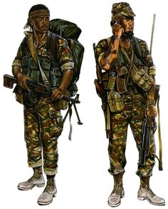 32 Battallion Military Figures, Military Art, Military History, Defence Force, Modern Warfare, Vietnam War, Cold War, Armed Forces, South Africa