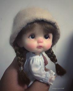 by Rodger Lee Cute Baby Dolls, Reborn Baby Dolls, Tiny Dolls, Blythe Dolls, Pretty Dolls, Beautiful Dolls, Baby Fairy, Clay Baby, Realistic Dolls