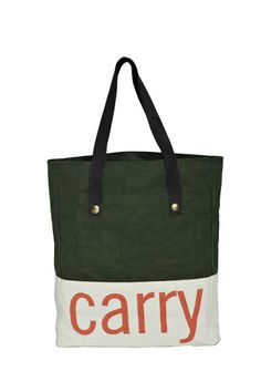 Tote bag for shopping, simple and minimalist but strong in design.
