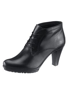 Leather Ankle Boots by Tamaris