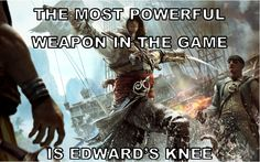 Best Weapon in the Game. Only Takes One Hit. - #AssassinsCreed4