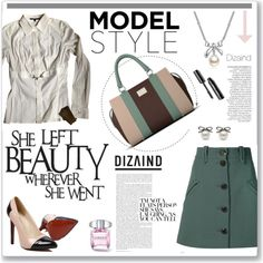 Dizaind by water-polo on Polyvore featuring moda, Gucci, Chloé, MBLife.com, Anja, polyvoreeditorial and dizaind