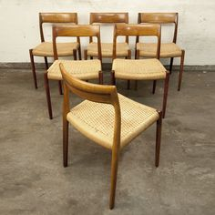 Møller #77 Dining Chairs Vikings, Dining Chairs, Furniture, Home Decor, Products, The Vikings, Decoration Home, Room Decor, Dining Chair