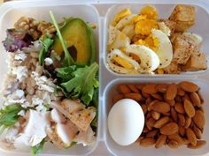high protein lunch idea
