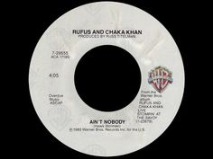 ▶ Rufus & Chaka Khan ~ Ain't Nobody 1983 Disco Purrfection Version - YouTube new and improved and longer than before!