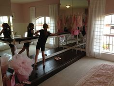 I can't wait to get Hannah's barre and mirrors up in her room! One of many summer projects ;)