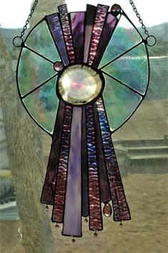 Stained Glass Projects, Stained Glass Patterns, Tiffany Stained Glass, Glass Artwork, Agate Geode, Agates, Glass Ceramic, Sun Catcher, Fused Glass