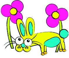 """""""Hello! I'm Ellie The Rabbit"""" This Rediscoveree was created by Maryn, Aged 5"""