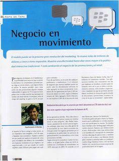 Entrevista de implementación del QR Code en el packaging de New Age realizada para la revista Barnds - by Mariano Cunille - Página 1