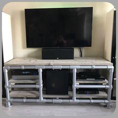 Zelf gemaakt audio/tv meubel