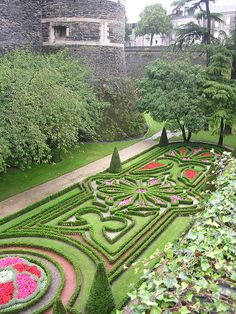 Angers Castle Garden