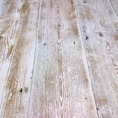 Lime washed floors