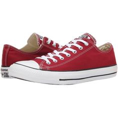 Converse Chuck Taylor All Star Seasonal Ox Athletic Shoes ($55) ❤ liked on Polyvore featuring shoes, rubber toe shoes, lace up shoes, grommet shoes, eyelets shoes and star shoes