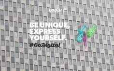 Yopps Be unique, express yourself #GoDigital, #ExpressYourself - Digital Media Agency © YOPPS 2013