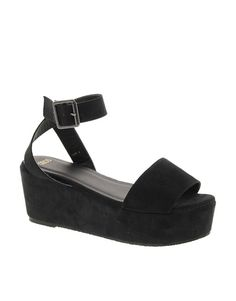 b5a3e9f276e6 Discover Fashion Online Black Platform Sandals