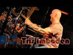 Tris Imboden - DW Collector's Series Maple/Mahogany Drums