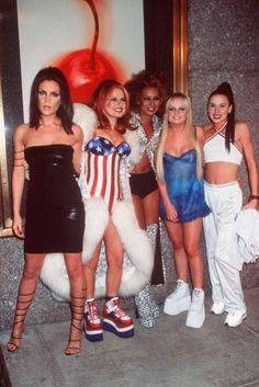 Spice Girls iconos de moda en los 90