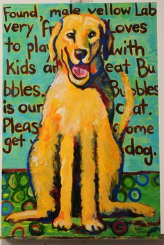 The Dog that started it all...my first puppy. Painted while a photographer for Paula Dean's Cooking Magazine came through Fairhope,AL. He took a lot of photos of the painting, so I kept the original, and started painting other people's pooches. I love paintings that can make you smile. Enjoy! Original painting by Leslie Lawrence Spradlin. All rights reserved. Photographed by Toni Riales (Daphne,AL).