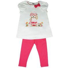Kidswear Singapore @ Honey & Clover | 2-Piece Shopping Teddi Set (Sandia) by Mayoral