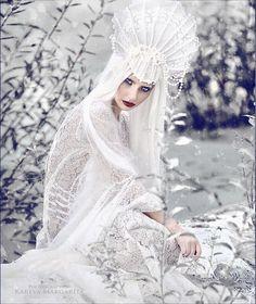 icy by Margarita Kareva - Photo 127064363 - Fantasy Photography, Fashion Photography, Ice Queen Costume, Foto Fantasy, Frozen Queen, Snow Maiden, Ice Princess, White Queen, Fantasy Costumes