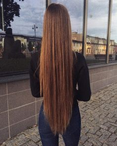 💁‍♀️ Long Brown Hair, Very Long Hair, Beautiful Long Hair, Gorgeous Hair, Pretty Hairstyles, Straight Hairstyles, Silky Smooth Hair, Hair Junkie, Rapunzel Hair