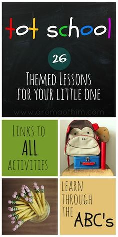 26 Weeks of Activities and Ideas for Teaching Your Tot at Home! Preschool Curriculum, Preschool Themes, Preschool Learning, Preschool Activities, Kids Learning, Teaching, Learning Time, Homeschooling, Kindergarten