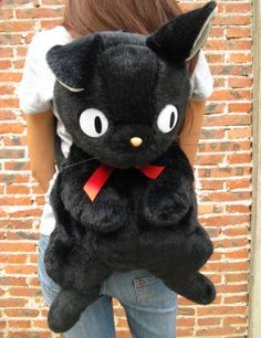 Kiki's Delivery Service Plush Backpack.. I want this so badly!!!!