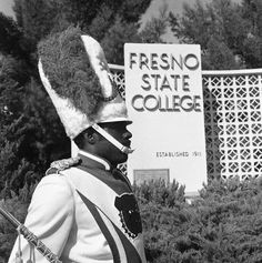 Here is the Fresno State College sign in 1970. Since then, our campus signs have been redeveloped and are going to be undergoing new changes soon!   Catch a glimpse of what is to come here: http://youtu.be/6sQOw_ZUOAg