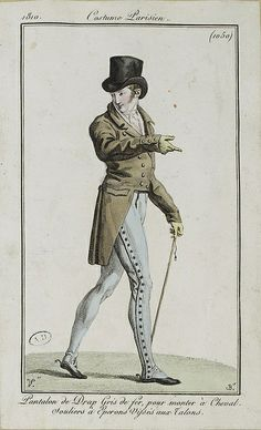 """Arts Bibliotheque riding trousers--re: """"sherryvalley"""" per @Samantha Bullat, photo via SceneInThePast, via Flickr"""