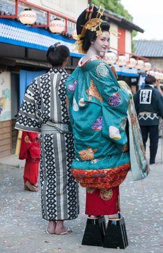 My Asian Favorit - Asian Fashion Japanese Outfits, Japanese Fashion, Asian Fashion, Japanese Costume, Japanese Kimono, Historical Costume, Historical Clothing, Art Japonais, Yukata