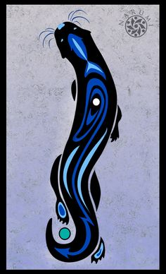 deviantART: More Like Tribal Otter Tattoo by ~geekyalias