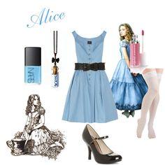 Tim Burton's Alice in Wonderland - Alice, created by fashionsenseandsensiblity0804 on Polyvore